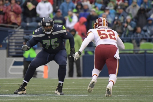 Duane Brown updates fans on his injured ankle