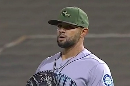 Mariners Prospects Stand Out at Military Appreciation Night