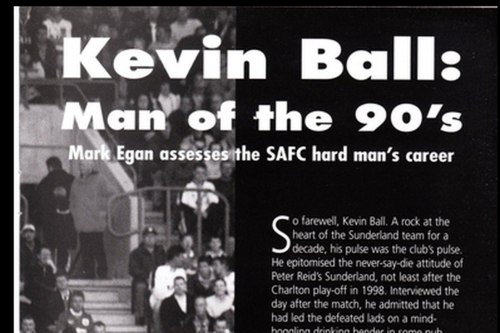 It's The Hope I Can't Stand Fanzine: Kevin Ball - Man of the Nineties!
