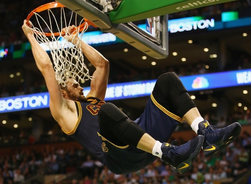 Cavaliers' Kevin Love is having career-best accuracy near the rim
