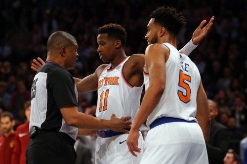 Cavaliers 104, Knicks 101: Scenes from Frank standing up to his bully