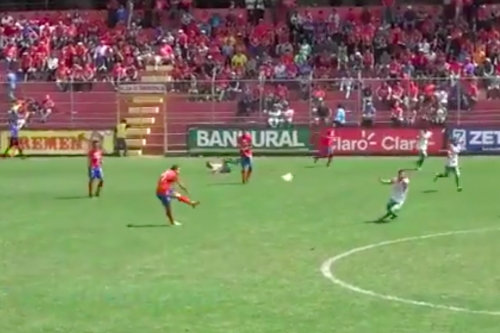Marco Pappa scored one of the longest goals you'll ever see