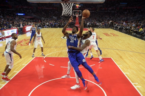 Joel Embiid Stars, 76ers Sink Clippers, 109-105