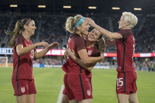 U.S. WNT Ends 2017 On A High Note With 3-1 Win Against Canada