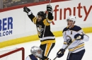Crosby, Sheary lead Penguins past Sabres 5-4 in OT (Nov 14, 2017)