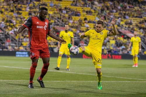 What has worked for Columbus Crew SC against Toronto FC in 2017