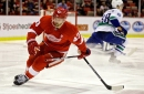 Red Wings' lineup vs. Flames: Darren Helm out, day-to-day