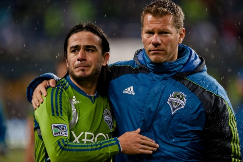 Wednesday's reminder that the Sounders are in Western Conference Finals again