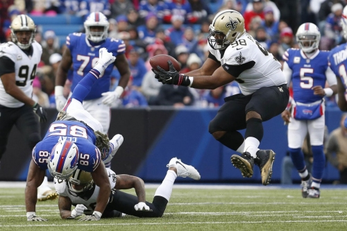 New Orleans Saints march through Buffalo Bills in fantasy football