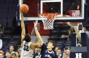 Triple Threats: Hoyas top Mountaineers, 102-68