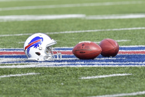 Buffalo Bills vs. Los Angeles Chargers television broadcast map