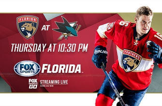 Preview: Panthers head west, begin road trip against Sharks