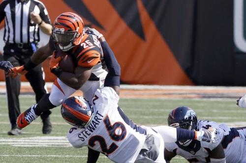 NFL Week 11 Primer: Cincinnati Bengals at Denver Broncos stats and facts