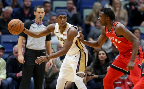 Pelicans will be a different team with Rajon Rondo on the court