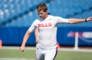 Buffalo Bills kicker Stephen Hauschka misses Thursday's practice with hip soreness