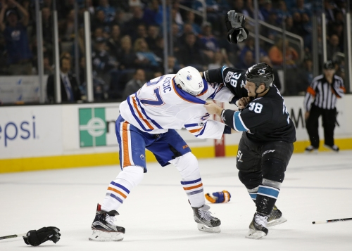 Three things to know: which Sharks player does Panthers' Haley want to fight?