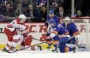 Boychuk's go-ahead goal helps Islanders beat Hurricanes 6-4 (Nov 16, 2017)