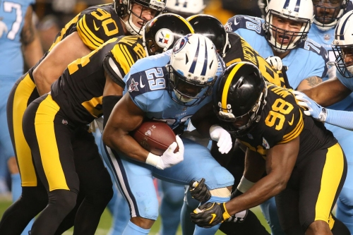 Steelers vs. Titans Week 11: 2nd quarter in-game update
