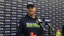 Seahawks offensive coordinator Darrell Bevell on Seattle's running game: 'We keep working at it. That is all we can do'