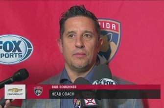 Bob Boughner says familiarity with Sharks system helped in Panthers win