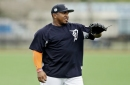 Former Tigers pitcher faces 50-game suspension for failed drug test