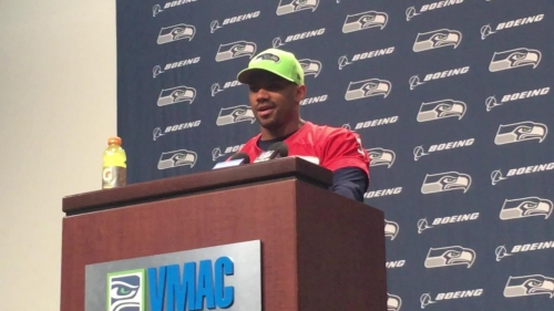 Seahawks QB Russell Wilson had to avoid solid foods for three days following jaw injury against Cardinals