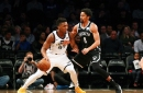 The show must go on: Nets defeat Jazz, 118-107, despite losing Russell for extended time