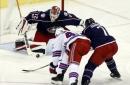 Bobrovsky makes 36 saves, Blue Jackets beat Rangers 2-0