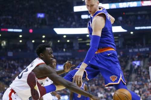 The Raptors Dominate Knicks with 107-84 Victory