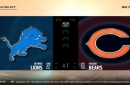 LIVE: Watch the Week 11 matchup between Lions-Bears on Madden NFL 18
