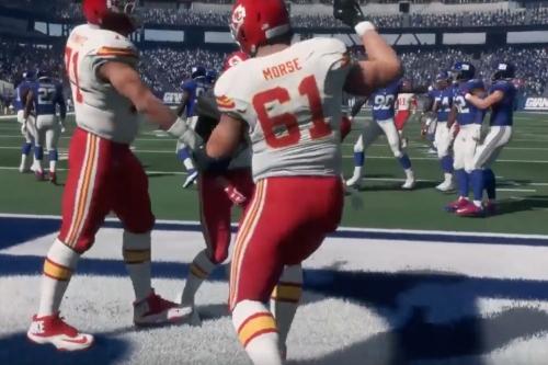 Chiefs vs. Giants Madden sim: Demetrius' day