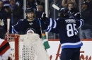 Jets score 5 in 2nd, beat Devils 5-2 for 4th straight win (Nov 18, 2017)