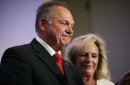 Anti-gay supporters rally for Moore, worrying LGBT community