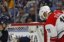 Aho scores late to lift Hurricanes over Sabres (Nov 18, 2017)