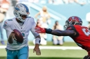 Miami Dolphins' Jay Cutler knocked out vs. Buccaneers, evaluated for possible concussion