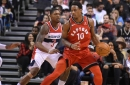 DeRozan, Siakam shine as Raptors battle the Wizards and win, 100-91