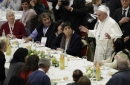 Pope devotes Mass to poor