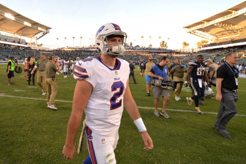 Los Angeles Chargers felt disrespected the Buffalo Bills started rookie quarterback Nathan Peterman