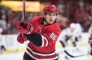 Teuvo Teravainen named NHL's First Star for the week ending November 19