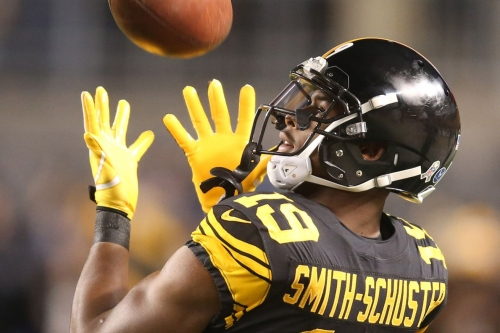 Snap counts show there is no longer a debate as to who is the Steelers No. 2 wide receiver