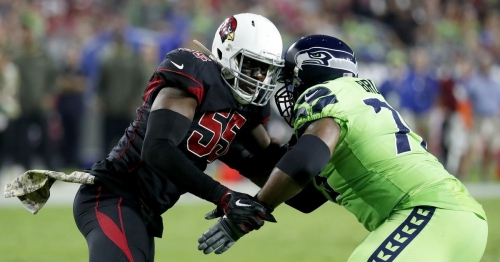 Report: Seahawks' LT Duane Brown to play against Falcons on Monday Night Football
