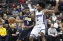 Denver Nuggets pull away from Sacramento Kings without coach Michael Malone, two starters