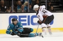 Donskoi stars, but Sharks lose in shootout to Ducks