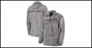 Georgia Bulldogs Women's Sherpa Super Soft Quarter-Zip Pullover Jacket