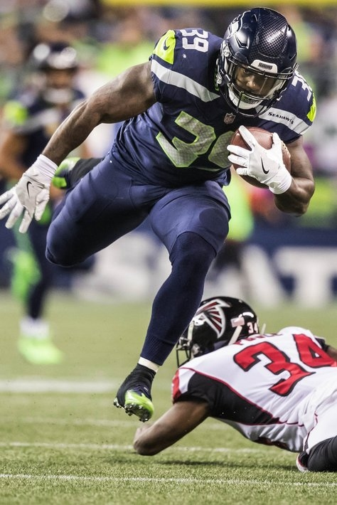 Mike Davis likely out against 49ers meaning Seahawks will turn back to Eddie Lacy and Thomas Rawls at tailback