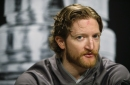 Sharks' Paul Martin has setback; Has his absence affected Brent Burns?