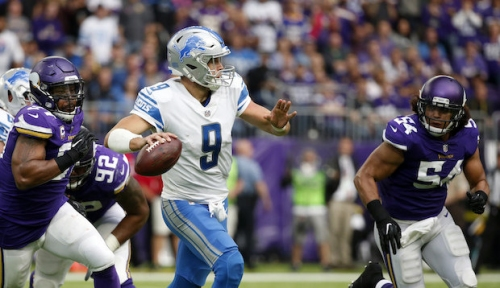 How to watch the Lions and Vikings on Thanksgiving