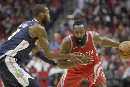 Rockets pound Nuggets behind James Harden, Chris Paul