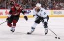Three takeaways: Sharks' Thornton 'skating as well as he has' this season
