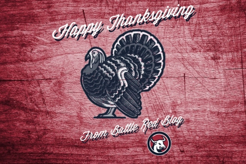 Happy Thanksgiving From Battle Red Blog